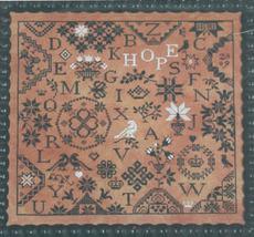 Simple Gifts Hope quaker cross stitch chart Praiseworthy Stitches - $12.60