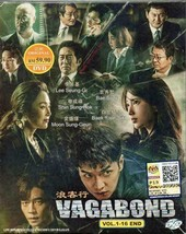 Korean Drama DVD Vagabond Vol.1-16 End (2019) English Subtitle Ship From USA