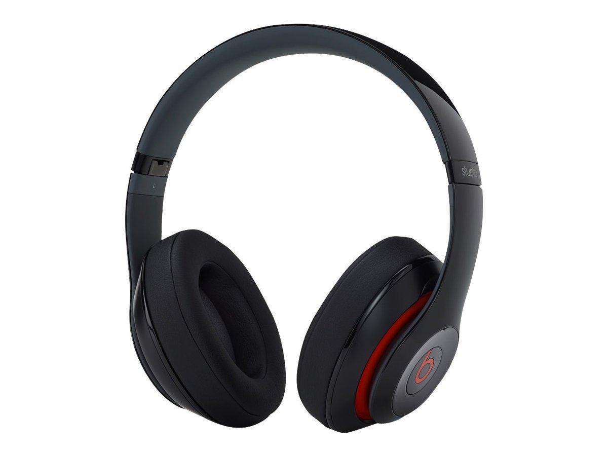 beats studio wireless over ear headphone red black limited. Black Bedroom Furniture Sets. Home Design Ideas