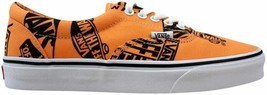 Vans Era Logo Mix Tangerine/Black VN0A38FRU8K Men's Size 4.5 - $70.00