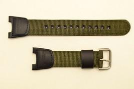 Genuine CASIO Original Twin Sensor WATCH BAND Strap SGW-100B SGW100B Green  - $24.25