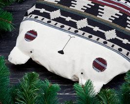 Bear cushion Bear Pillow Tribal Pillow Beanbag ... - $28.50