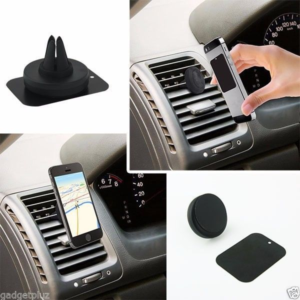 MAGNETIC AIR MOUNT CLIP AIR VENT CAR HOLDER FOR SAMSUNG GALAXY S6 Edge Plus