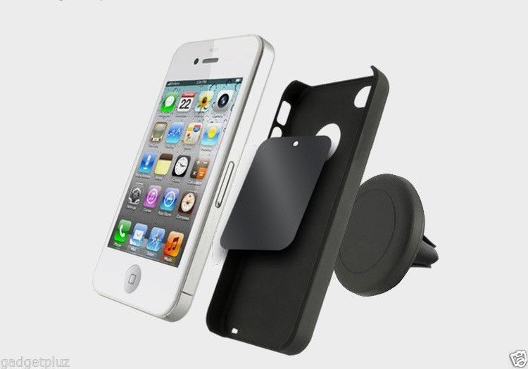 MAGNETIC AIR MOUNT CLIP AIR VENT CAR HOLDER FOR SAMSUNG GALAXY S6 Edge Plus image 4