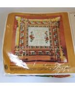 Creative Circle Friendship Pillow Top Kit 0430 Vintage 70s Oranges - $19.99