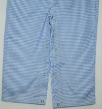 Ellie O Gingham Full Lined Longall Size 18 Months Color Blue image 6