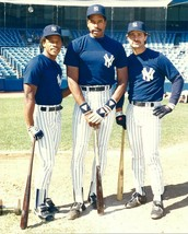 RICKEY HENDERSON DAVE WINFIELD MATTINGLY 8X10 PHOTO NY YANKEES BASEBALL ... - $3.95