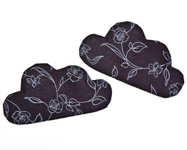 Black Cloud Drink Coaster Fabric Kitchen Accessory Housewarming Gifts Se... - $17.00