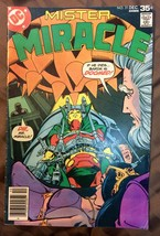 Mister Miracle #21 1977 VF AND #25 1978 (last Issue) Fine DC COMICS LOT ... - $10.66
