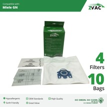 Miele ZVac GN Vacuum Bags (10 bags + 4 filters) - $24.95