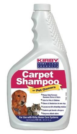 how to use kirby shampooer on furniture