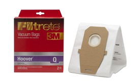 Filtrete Hoover Q Synthetic Vacuum Bag, 2 Pack - $6.13