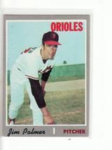 1970 TOPPS BASEBALL CARD# 449 JIM PALMER  EX++NM- ORIOLES STAR - $6.11