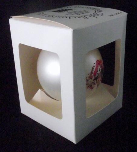 AVON North President's Club Ornament 1996 Mrs Albee Customer Connection Box VTG