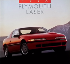 1990 Plymouth LASER sales brochure catalog 2nd Edition US 90 RS TURBO - $10.00