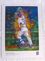 Detroit Tigers Magglio Ordonez Artwork Poster 8.5 x 11 inches Picture - $7.82