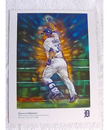 Detroit Tigers Magglio Ordonez Artwork Poster 8.5 x 11 inches Picture - $7.82