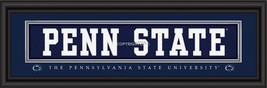 Penn State University Officially Licensed Stitched Jersey Framed Print-3 Designs - $39.95