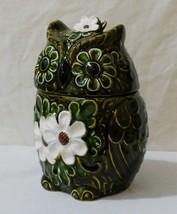 Rare-Vintage Decorative Owl Cookie Jar-Cameron & Son(Now Enesco)- Made in Japan - $128.89