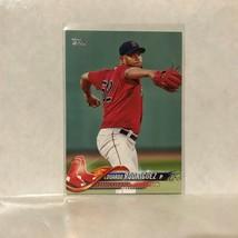 #43 Eduardo Rodriguez Boston Red Sox 2018 Topps MLB Baseball Card A1S - $0.73