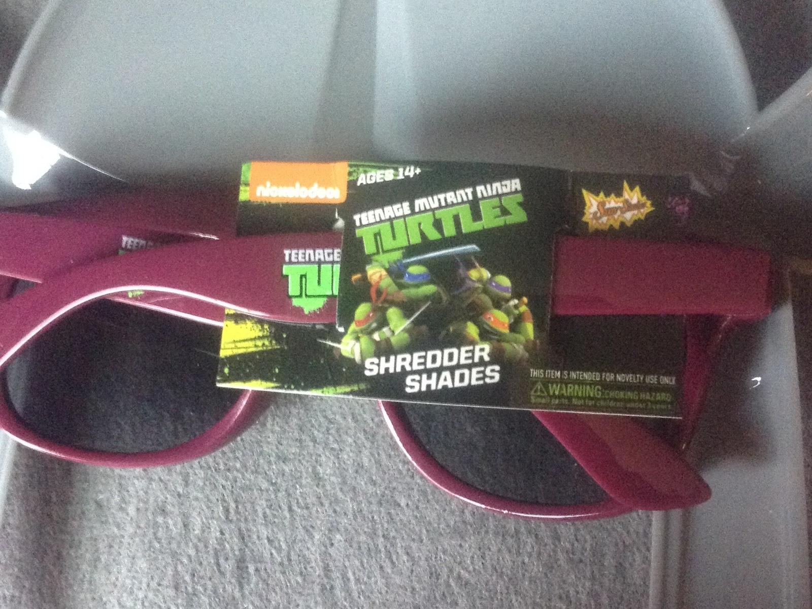 Teenage Mutant Ninja Turtles Shredder Shades Sunglasses Cosplay Mask Lootcrate