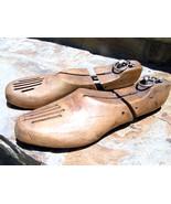 Match Pair VINTAGE Wooden Shoe stretchers BZ Carson Pirie & Scott company - $59.98