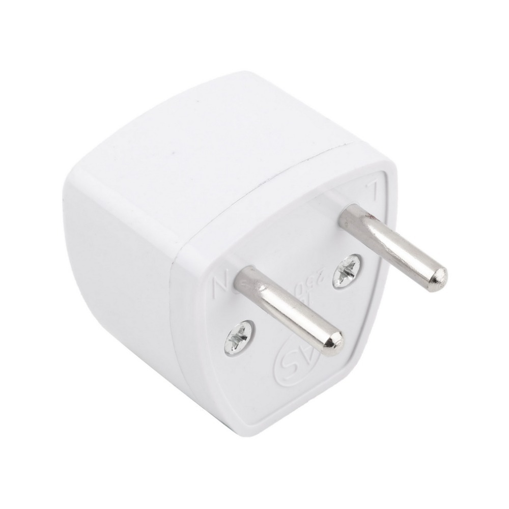 Universal US UK AU to EU European 2 Prong AC Travel Power Plug Adapter