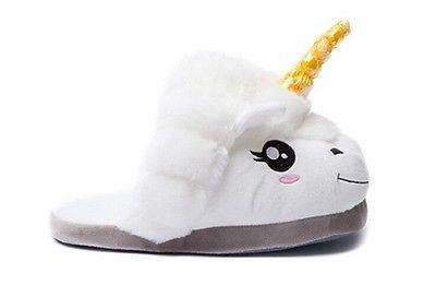 Kawaii Clothing Cute Ropa Harajuku Unicorn Pony Slippers Shoes Zapatos Unicornio image 2