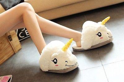 Kawaii Clothing Cute Ropa Harajuku Unicorn Pony Slippers Shoes Zapatos Unicornio image 7