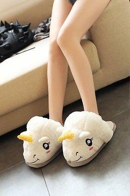 Kawaii Clothing Cute Ropa Harajuku Unicorn Pony Slippers Shoes Zapatos Unicornio image 6