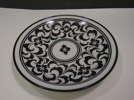"""Large Dansk Black and White 12"""" Platter Scroll - $29.70"""