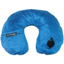 Travel Smart By Conair Ez Inflate Fleece Neck Rest (navy) CNRTS44NVY - $375,70 MXN