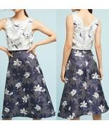 Anthropologie Floral Jacquard Top & Skirt Set by Eva Franco $228 - NWT - $76.49