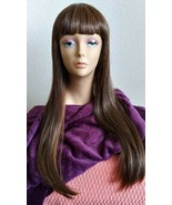 Wig Synthetic Very Long Dark Brown Diana Wig Pre-Owned - $34.99