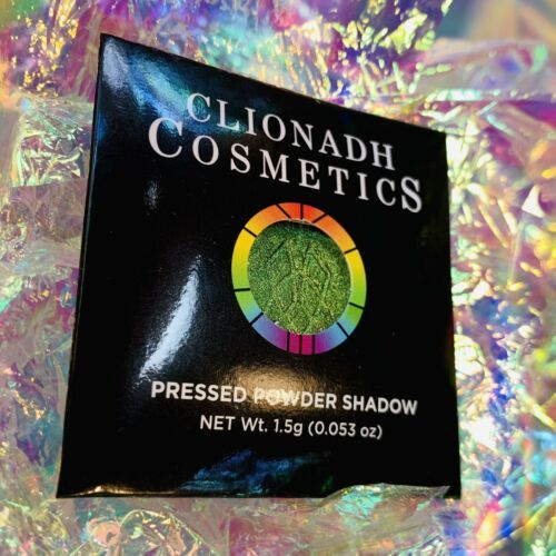 NWT NIB Clionadh Cosmetics JEWELLED MULTICHROME SINGLE PAN *1 SHADE* Gargoyle