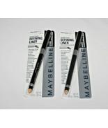 Maybelline Expert Eyes Defining Liner Ebony Black  Lot Of 2 In Box - $15.19
