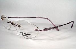 Hush Puppies H 159 VI violet Women Eyeglass Eyewear new Frame Drill Moun... - $49.49