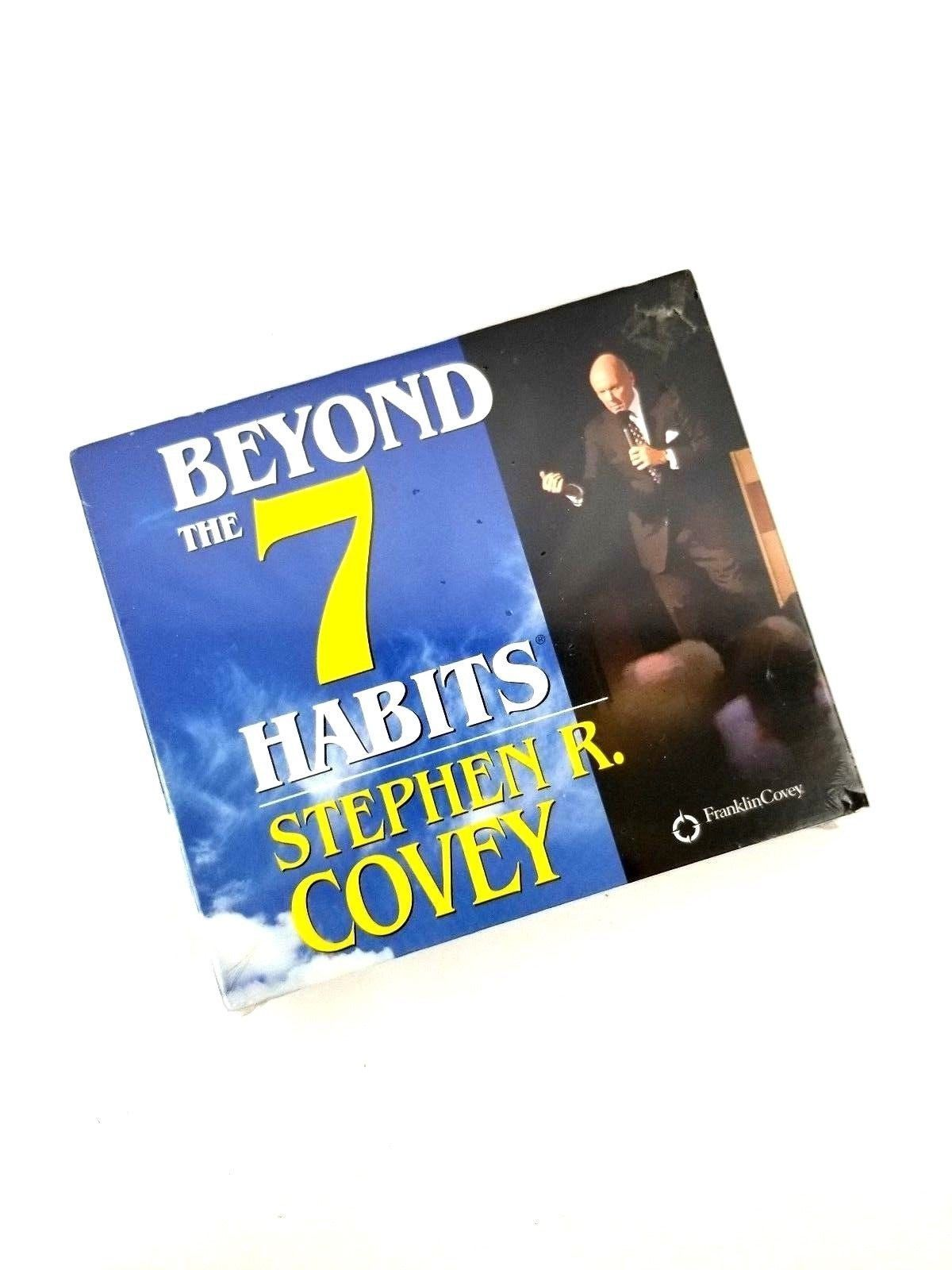 Franklin Covey: Beyond the 7 Habits 4 Audio CDs by Stephen R. Covey New