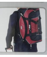 """PACIFIC COAST 26"""" SPACIOUS ROLLING DUFFEL W/ DROP BOTTOM COMPARTMENT NEW... - $74.95"""