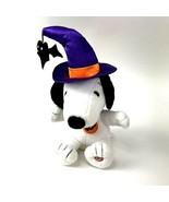 Hallmark Peanuts Snoopy Halloween Animated Musical Plush Funny Spinning ... - $19.79