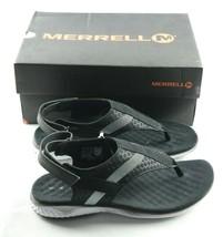 Merrell 1SIX8 Linna Strap Sandals Womens Sz 5 Black White Shoes - $45.00