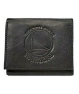 GOLDEN STATE WARRIORS NBA BROWN LEATHER TRI-FOLD WALLET EMBOSSED TEAM LOGO NEW - $13.89