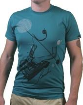 Bench Mens Sea Green Leader Live Concert Studio Soundboard Mixer T-Shirt NWT image 1