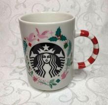 New Starbucks 2018 Holiday Collection 12oz Candy Cane Mug - $24.05