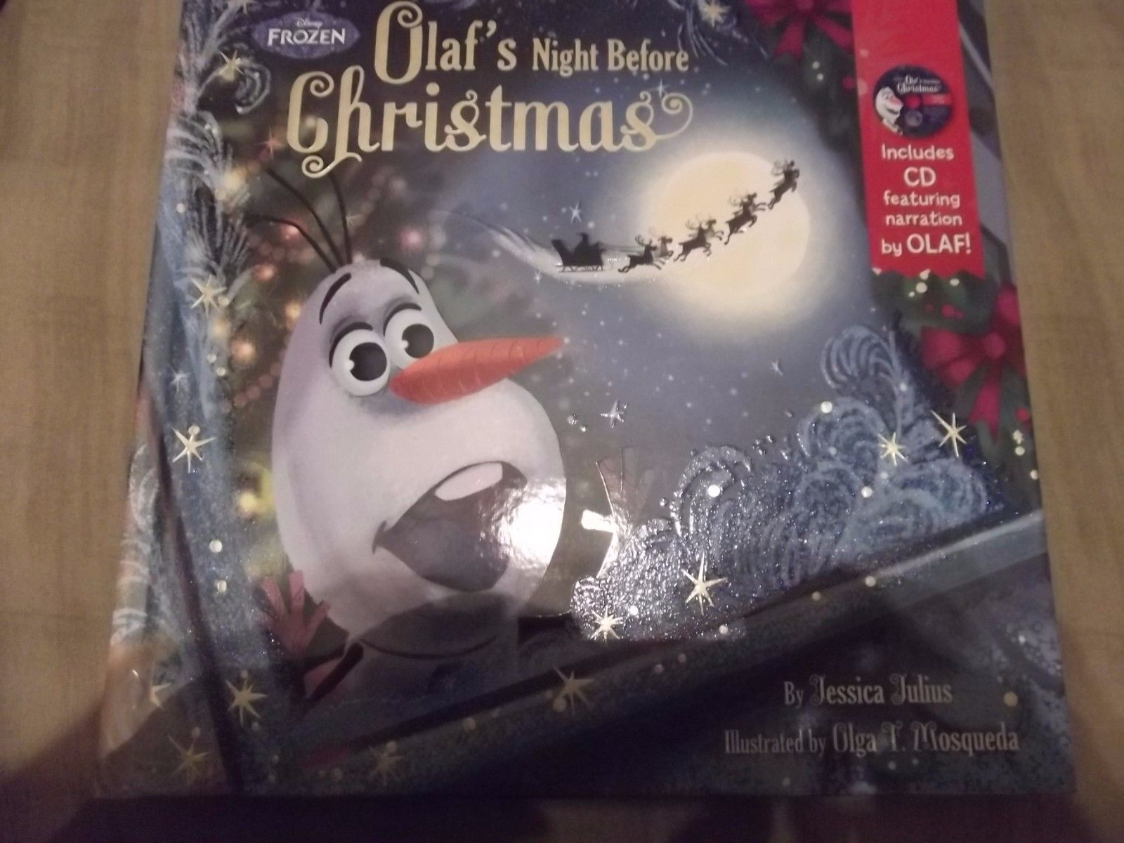 Disney Frozen Olaf\'s Night Before Christmas Book ...