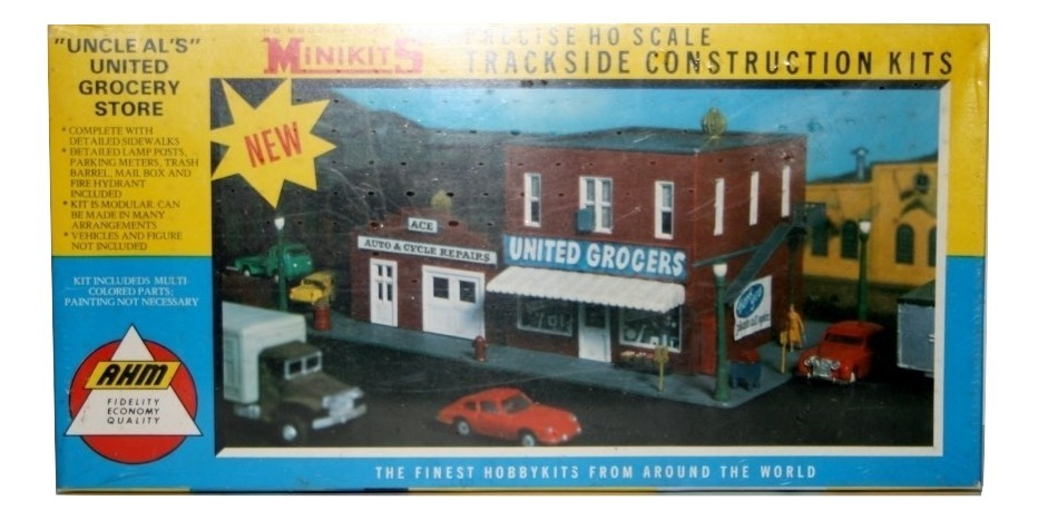 AHM Minikits Uncle Al's United Grocery NIB