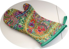 The Best Quilted Oven Mitts & Pot Handles on eBay!! Jungle Jewels  # 1 - $7.50