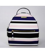 Kate Spade Laurel Way Cruise Stripe Printed Sammi Backpack Bag New NWT $299 - $191.54 CAD