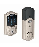 Schlage Z-Wave Connect Camelot Touchscreen Deadbolt with Built-In Alarm,... - $249.79