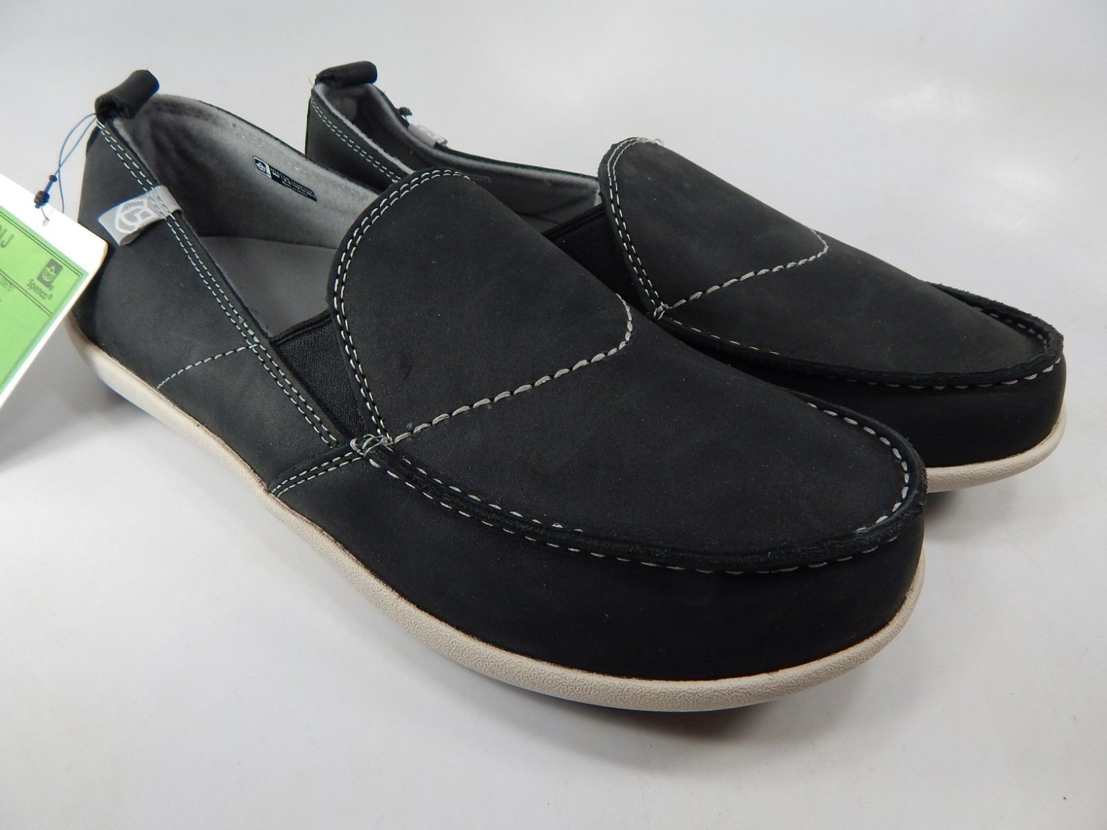 Spenco Siesta Size US 9 M (D) EU 42.5 Men's Slip On Casual Shoes Charcoal Grey